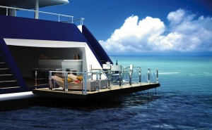 Motoryacht for salr