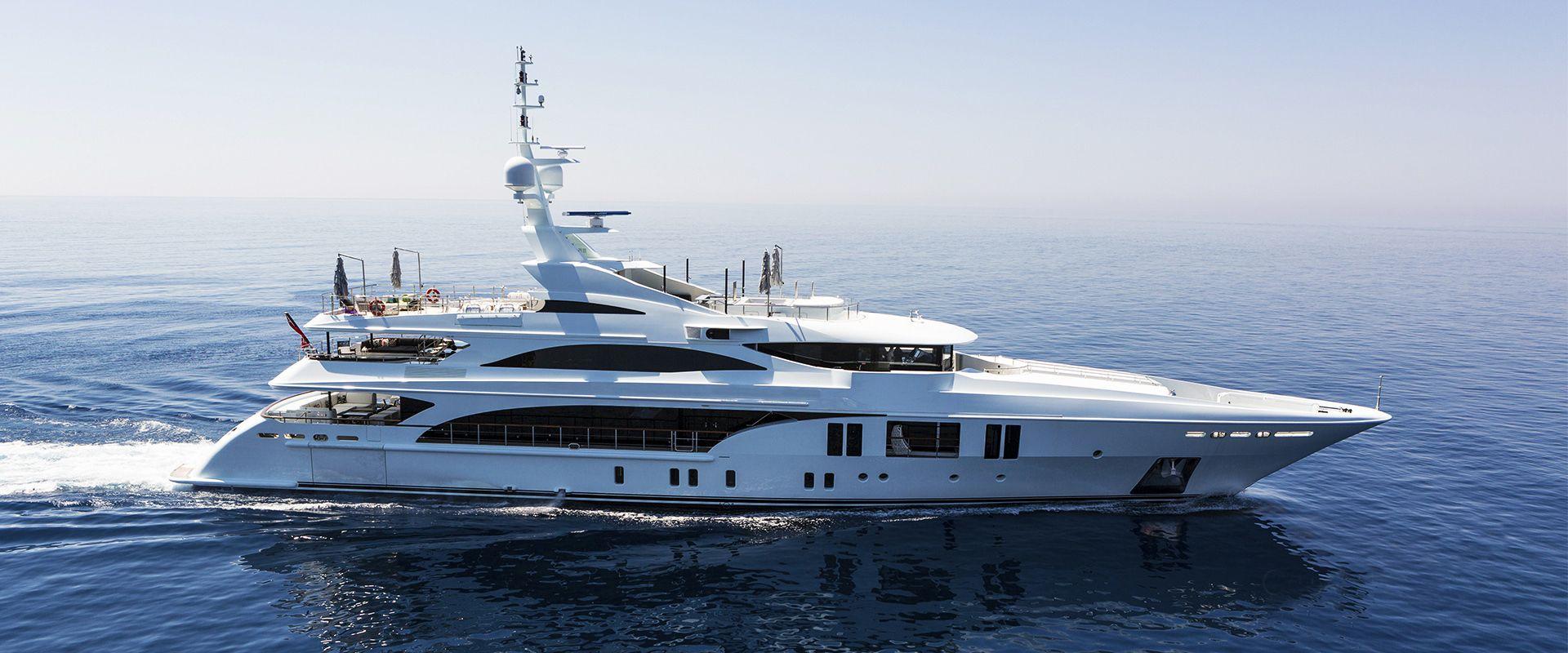 Mega yachts Charter